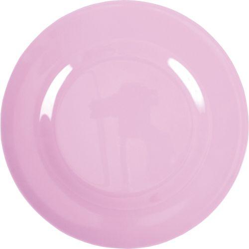 rice / Melaminový tanier Pink
