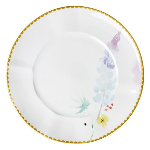 rice / Porcelánový tanier Blue Lupin ⌀ 23 cm