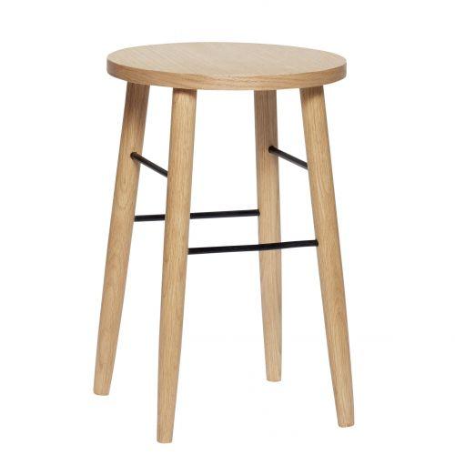 Hübsch / Drevená stolička Oak 52 cm
