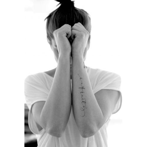 Ylva Skarp / Pohľadnica Infinity Tattoo 15 x 21 cm