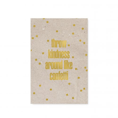 TAFELGUT / Pohľadnica Confetti