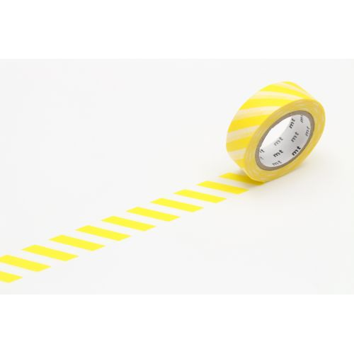 mt / Japonská papierová páska Lemon Stripe