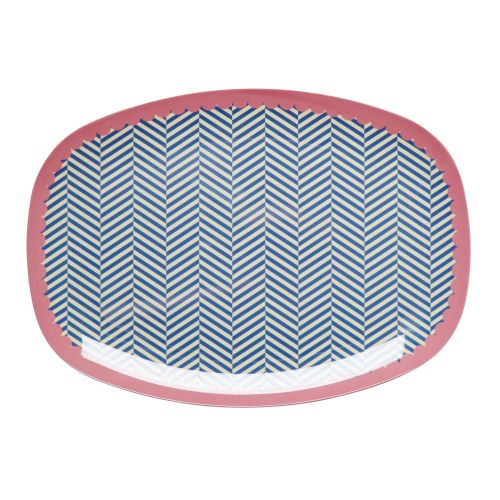 Rice / Melaminový tác Sailor stripe