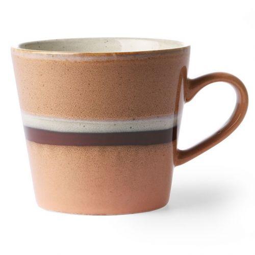 HK living / Keramický hrnček s uškom 70's Mug Steam 300 ml