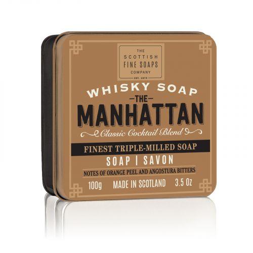 SCOTTISH FINE SOAPS / Mydlo v plechovej krabičke Manhattan Cocktail