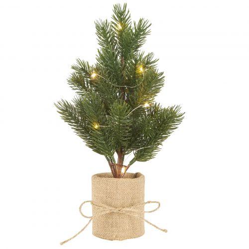 STAR TRADING / Dekoratívny svietiaci stromček Tree 35cm