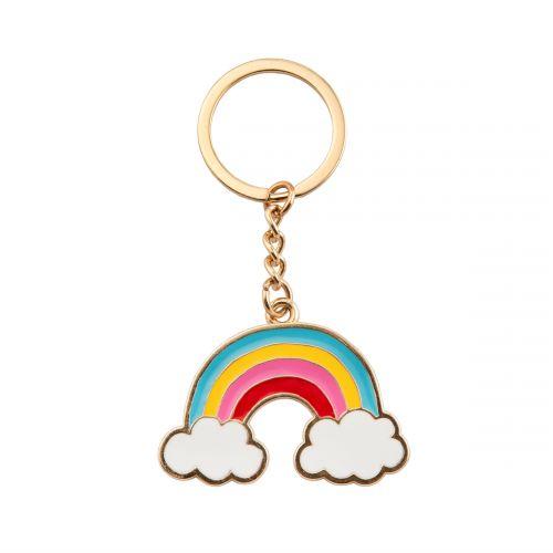 sass & belle / Kovový prívesok na kľúče Rainbow