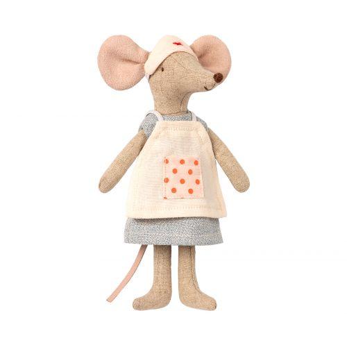 Maileg / Myška - Zdravotná sestrička