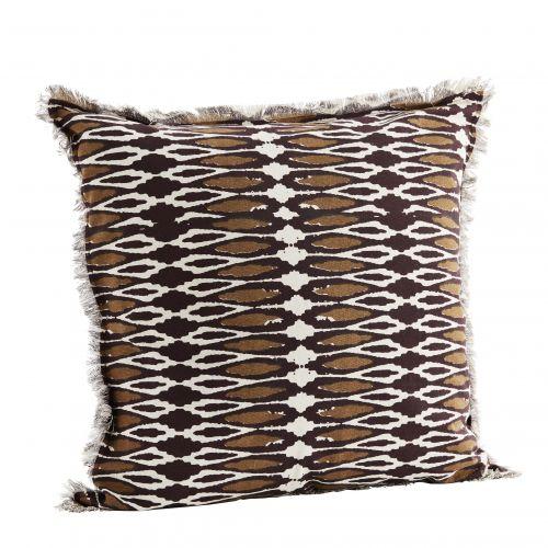 MADAM STOLTZ / Bavlnený poťah na vankúš Wild Savanna 50 x 50 cm