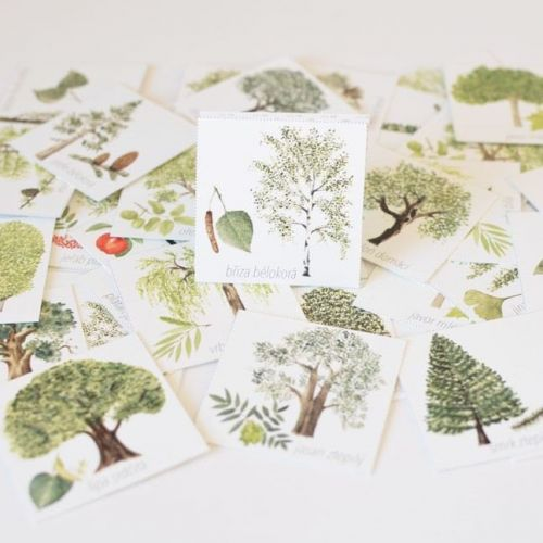 MANKAI Paper / Papierové pexeso Stromy