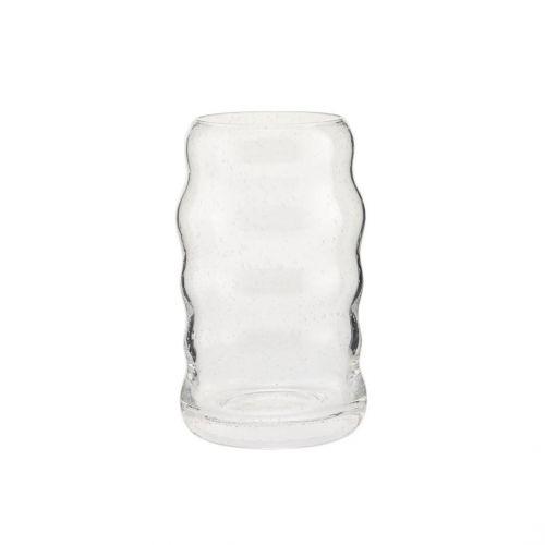 House Doctor / Sklenená vázička Srina Clear 12 cm