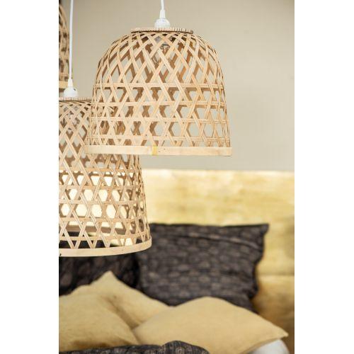 IB LAURSEN / Stropná lampa Bamboo Shade