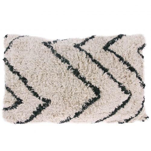 HK living / Bavlnený vankúš Zigzag Cushion 40x60 cm