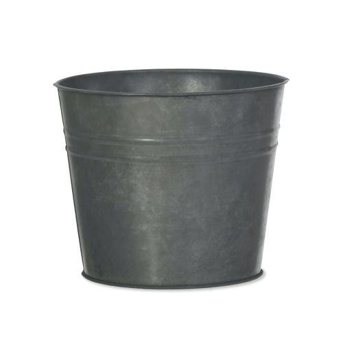 Garden Trading / Kovový obal na kvetináč Winson Black Large