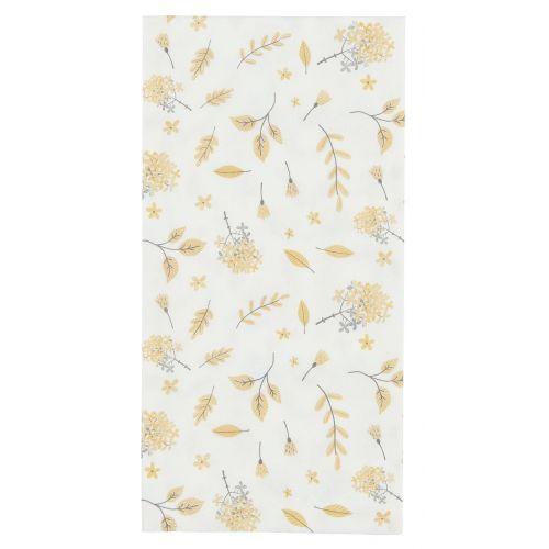 IB LAURSEN / Papierové obrúsky Yellow Leaves 16 ks