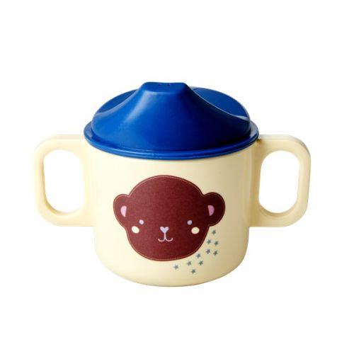 rice / Detský melamínový hrnček Monkey