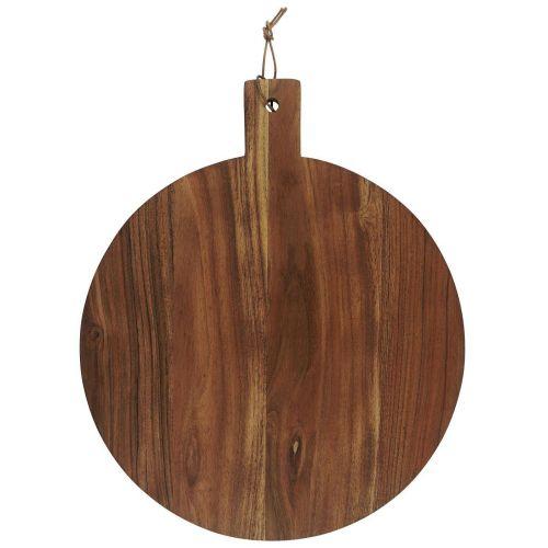 IB LAURSEN / Drevená doska na krájanie Round Oiled Acacia