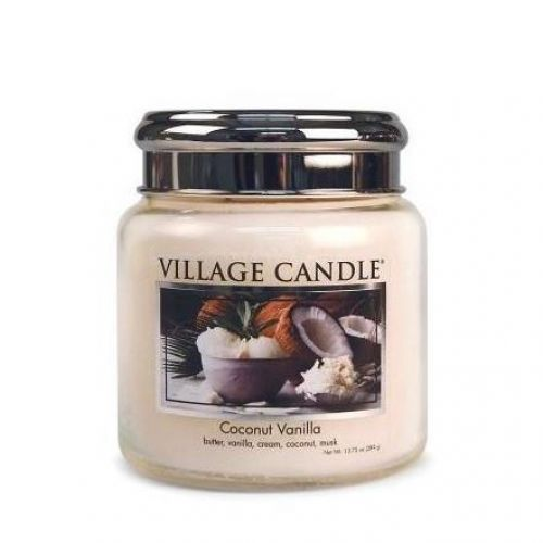 VILLAGE CANDLE / Sviečka Village Candle - Coconut Vanilla 389 g