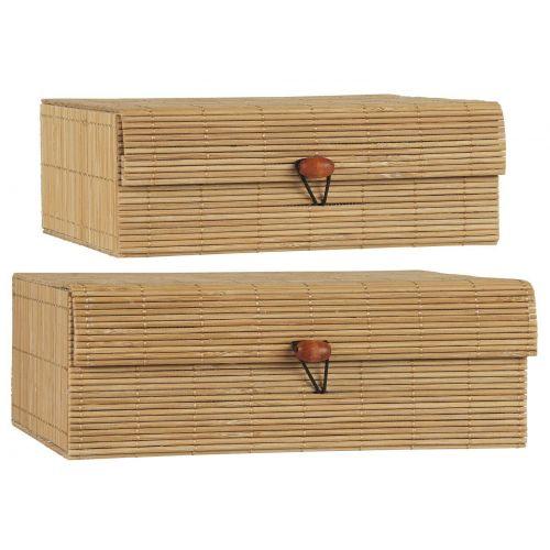 IB LAURSEN / Úložný bambusový box - set 2ks