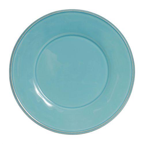 CÔTÉ TABLE / Keramický talíř Constance Turquoise 28,5 cm