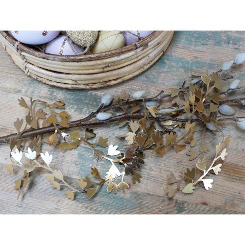 Chic Antique / Veľkonočná girlanda Gold Vine 150 cm