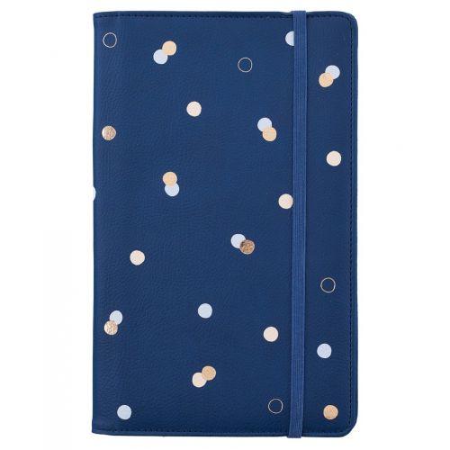 Busy B / Cestovná peňaženka Blue & Dots