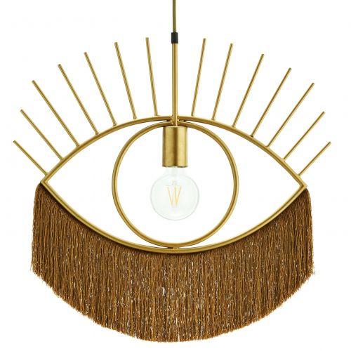 MADAM STOLTZ / Závesná lampa Eye-catching Gold