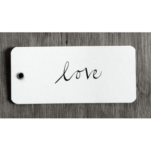 Ylva Skarp / Papírová dárková kartička Love