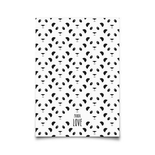 EEF lillemor / Pohlednice Panda Love A6