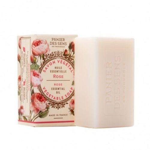 Panier des Sens / Omladzujúce extra jemné mydlo - ruža