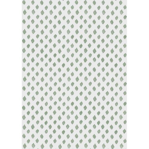 IB LAURSEN / Darčekový baliaci papier Green Leaves 10 m