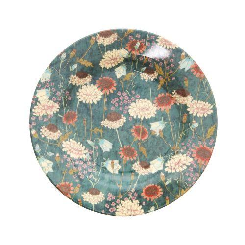 rice / Melamínový tanier Fall Flower
