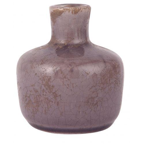IB LAURSEN / Keramická vázička Crackled Purple