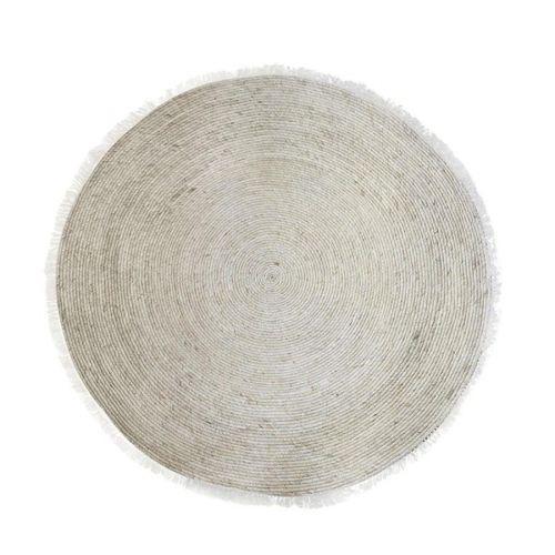 Chic Antique / Jutový koberec Fringes 120cm