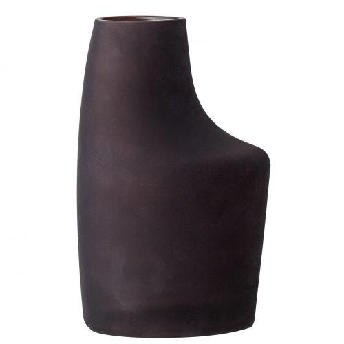 Bloomingville / Sklenená váza Anda Brown