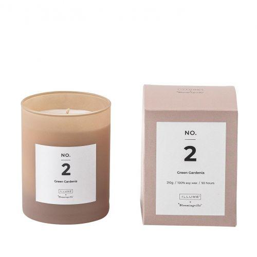 Bloomingville / Vonná sviečka NO. 2 Green Gardenia 210 g