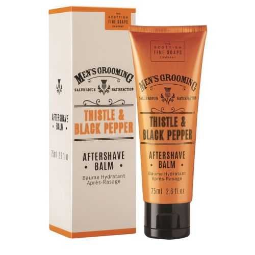 SCOTTISH FINE SOAPS / Balzám po holení Thistle & Black pepper 75 ml