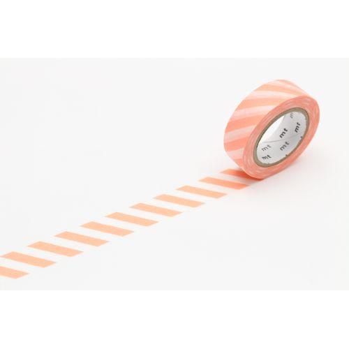 mt / Japonská papierová páska Salmon Pink Stripe