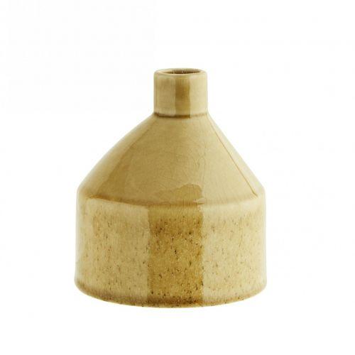 MADAM STOLTZ / Keramická váza Stone Light Yellow