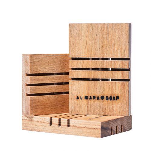 Almara Soap / Mydelnička z brezového dreva Menšia