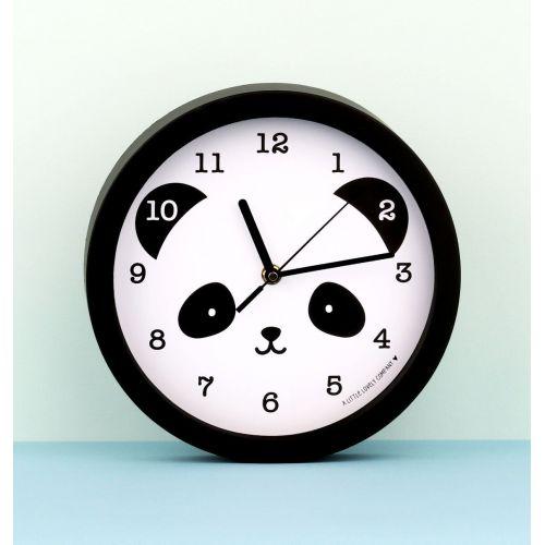 A Little Lovely Company / Detské nástenné hodiny - Smiling Panda