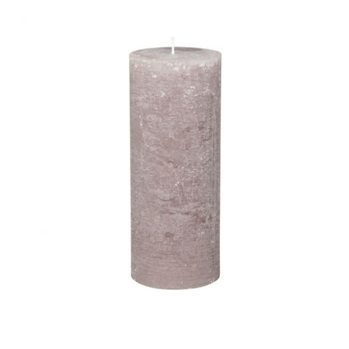 Chic Antique / Okrúhla sviečka Macon Rustic Taupe 25cm