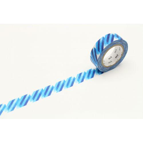 mt / Japonská papierová páska Crystal Blue