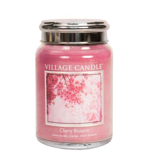 VILLAGE CANDLE / Sviečka Village Candle - Cherry Blossom 602g