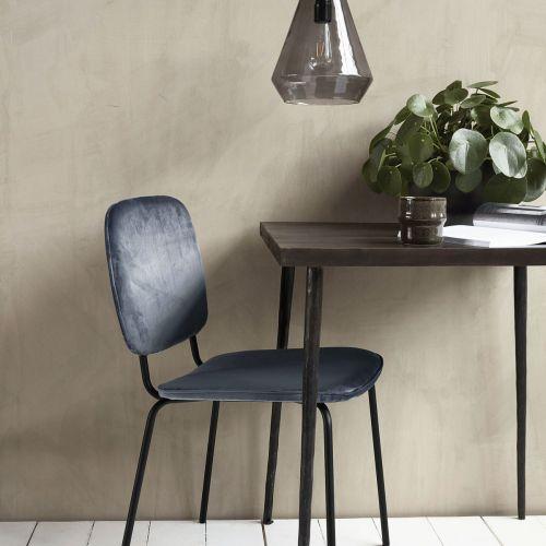 House Doctor / Zamatová stolička Comma Grey