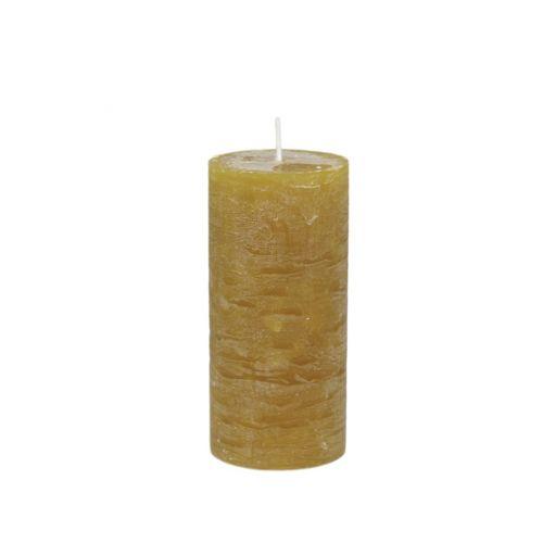 Chic Antique / Sviečka Rustik Mustard 15 cm