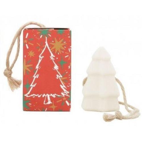 CASTELBEL / Vianočné závesné mydlo Christmas Tree - červená