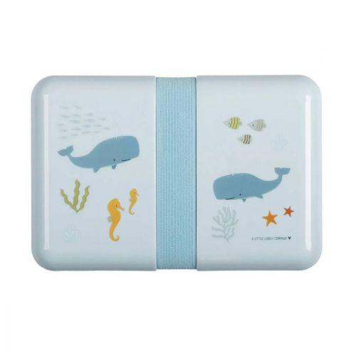 A Little Lovely Company / Krabička na desiatu Ocean + samolepky