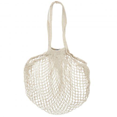IB LAURSEN / Nákupná taška sieťovka Cream