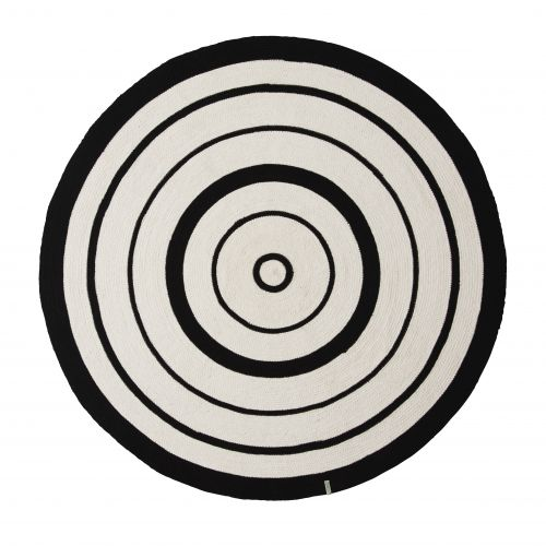 OYOY / Bavlnený koberček Circle Rug 120cm